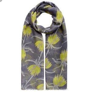 India Hicks Crown Imperial Scarf - Rapeseed Yellow